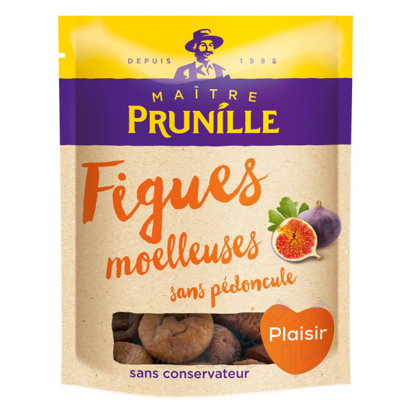 Maître Prunille Figues sèches moelleuses 500g