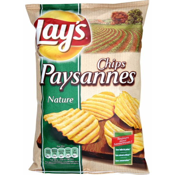Lay's Chips Paysannes nature 150g