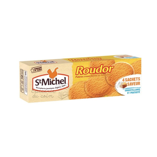 St. Michel biscuits palets Roudor