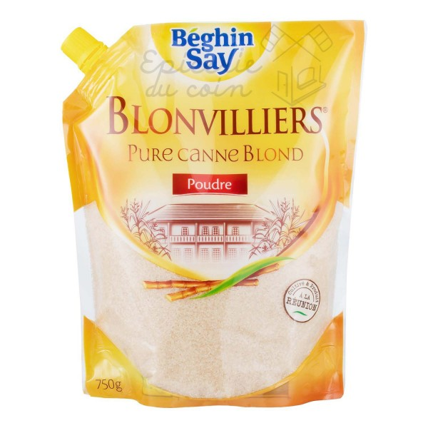 Blonvilliers pure canne blond 750g