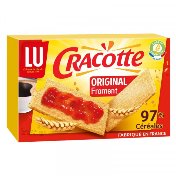 LU Biscottes froment Cracotte