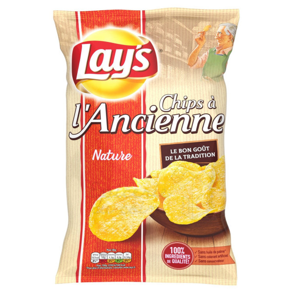 Lay's Chips à l'ancienne nature 150g
