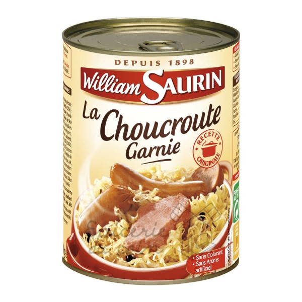 William Saurin La Choucroute Garnie